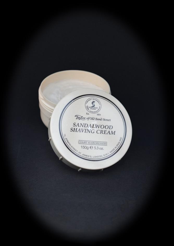 Sandalwood Shaving Cream 150g (€)